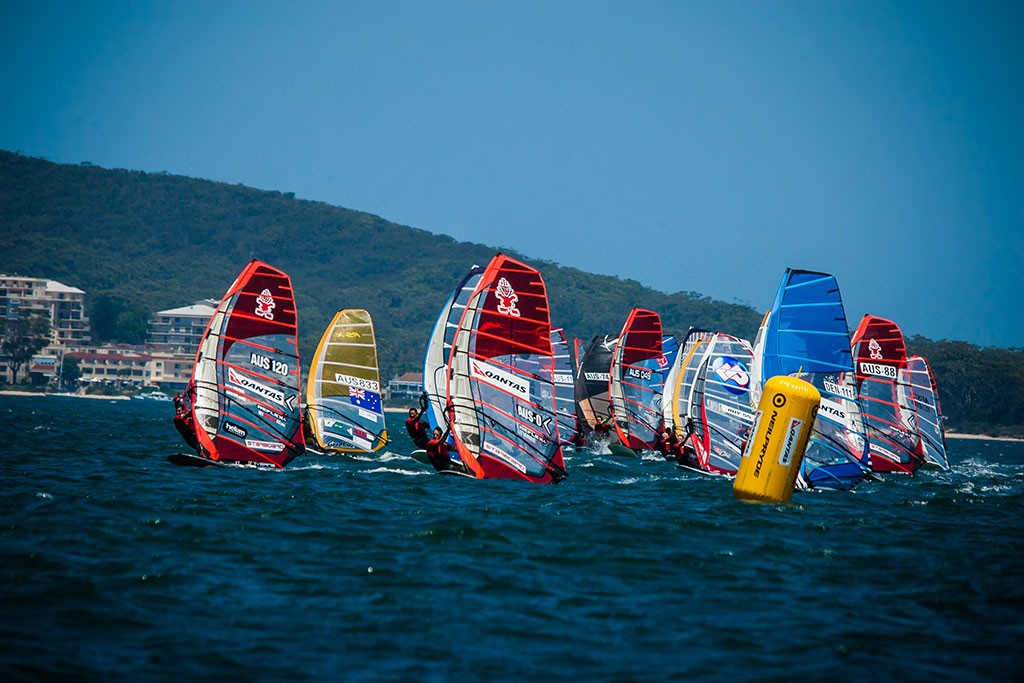 Race 3 startline. - 2013 Qantas Downunder Pro © Sean O'Brien