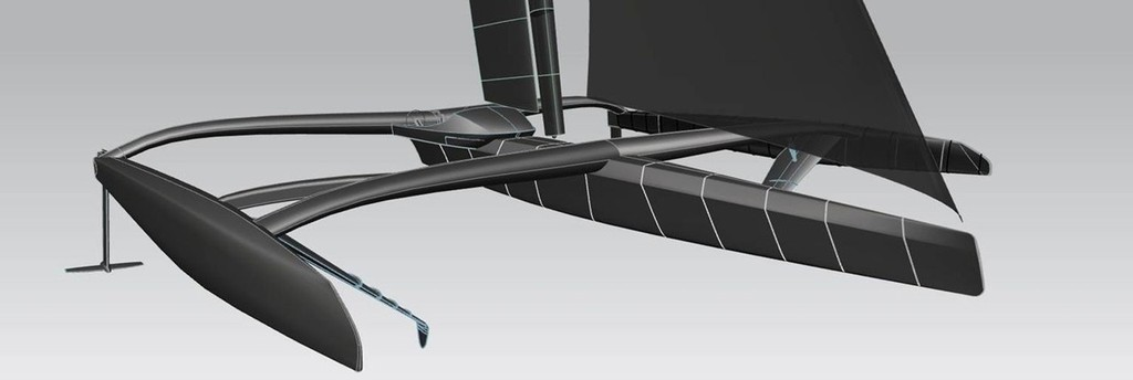 3D views of Hydroptere 2  ©  VPLP