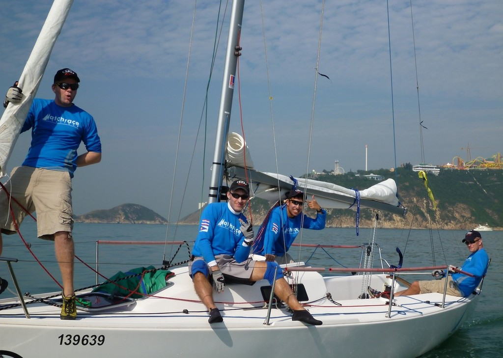 Team Finland - Matchrace Thailand 2013 © Various people