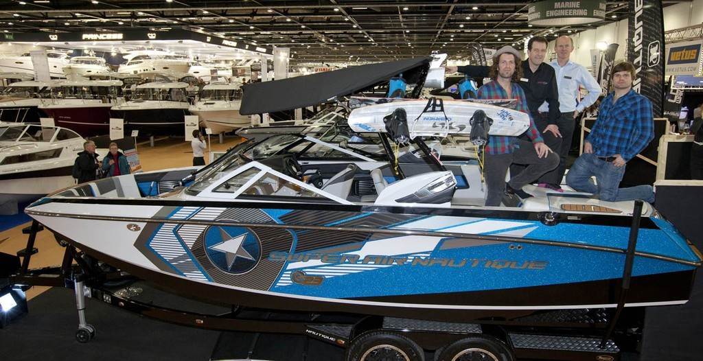 The launch of the new Nautique G23 Wake Boat, at the Tullett Prebon London Boat Show, ExCeL, London.<br />  &copy; onEdition http://www.onEdition.com