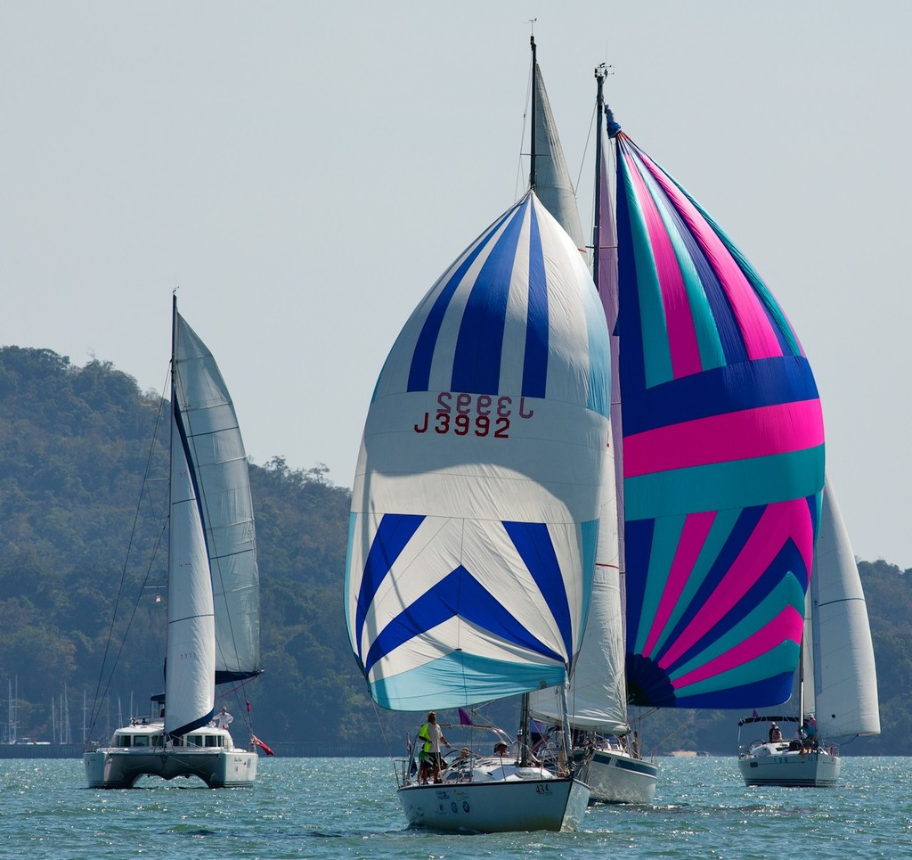 Royal Langkawi International Regatta 2013. Skybird, Rascal. © Guy Nowell http://www.guynowell.com