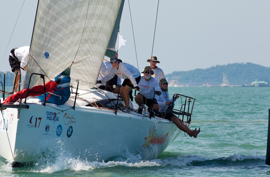 Royal Langkawi International Regatta 2013. Walawala. © Guy Nowell http://www.guynowell.com