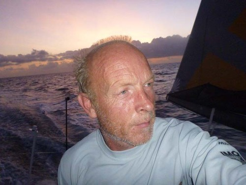 Mike Golding onboard Gamesa - 2012 Vendee Globe © Mike Golding Yacht Racing http://www.mikegolding.com