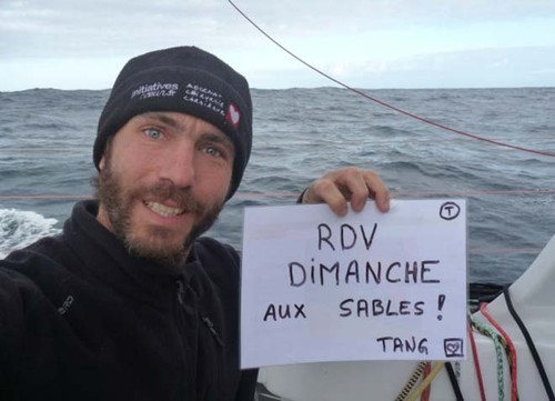 Tanguy de Lamotte, Initiatives Coeur - 2012 Vendee Globe © Tanguy De Lamotte (FRA) / Initiatives Coeur