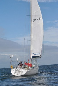 Quest setting sail in September photo copyright  SW taken at  and featuring the  class