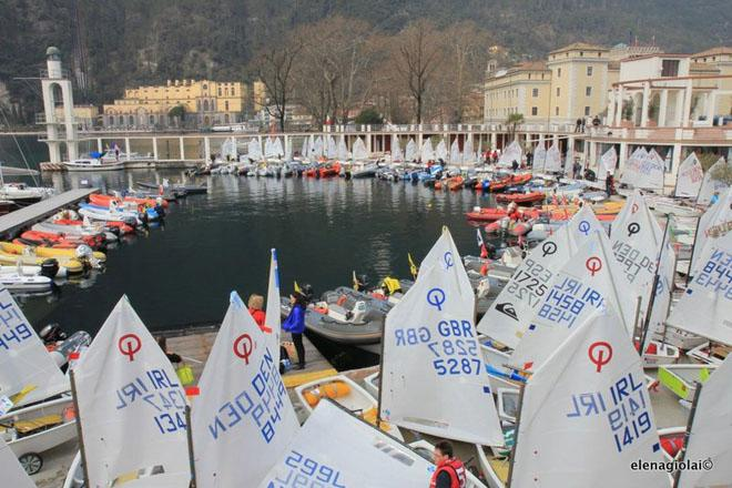31st Garda Optimist Meeting - Day 1 ©  Elena Giolai/Fraglia Vela Riva