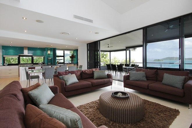 The Edge apartments are modern and luxurious from top to toe! © Kristie Kaighin http://www.whitsundayholidays.com.au