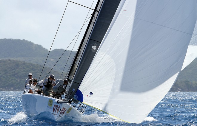 Ryan DeVos, Volpe at Melges 32 Virgin Islands Sailing Series  © Joy Dunigan