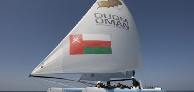 Team Duqm Oman © Extreme Sailing Series http://www.extremesailingseries.com