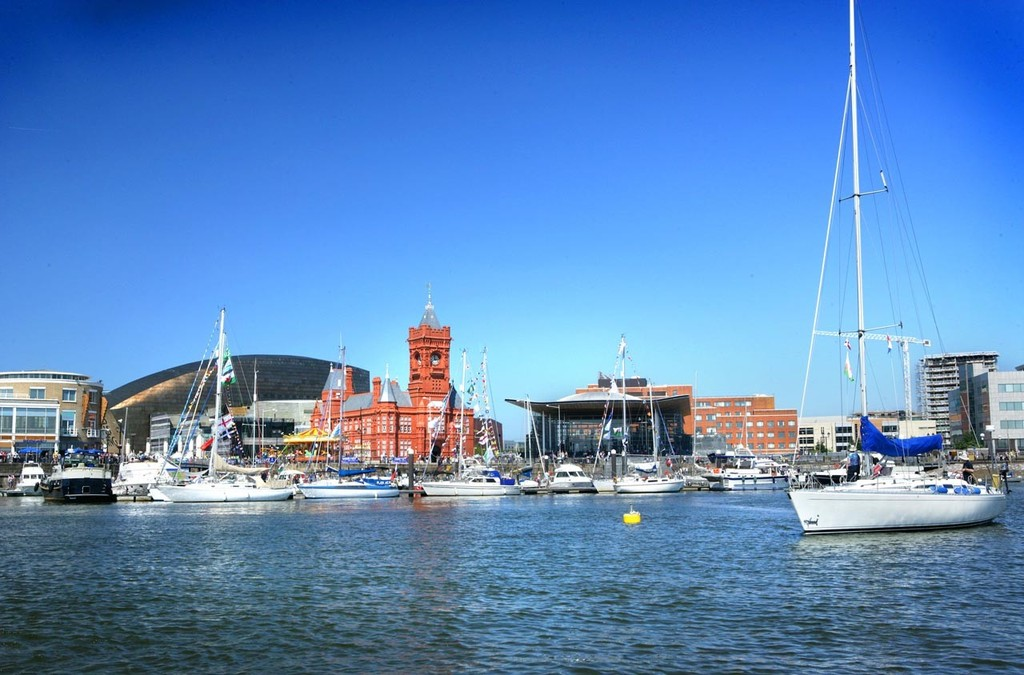 Cardiff Harbour, United Kingdom, where the 2017-18 edition of the Volvo Ocean Race will stop. ©  Cardiff http://www.volvooceanrace.com/
