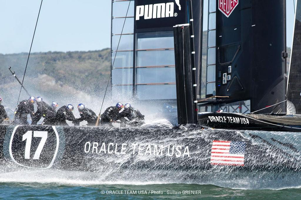 - Oracle Team USA March 2013  Training © Guilain Grenier Oracle Team USA http://www.oracleteamusamedia.com/