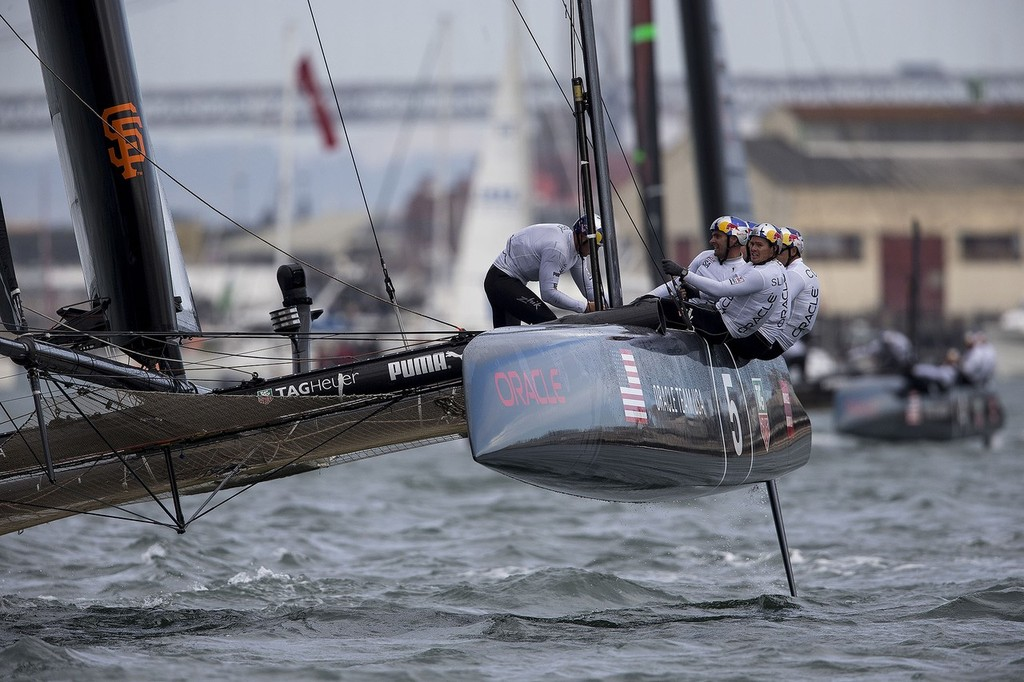 Oracle preparing for America's Cup World Series San Francisco in October  ©  ACEA http://www.americascup.com