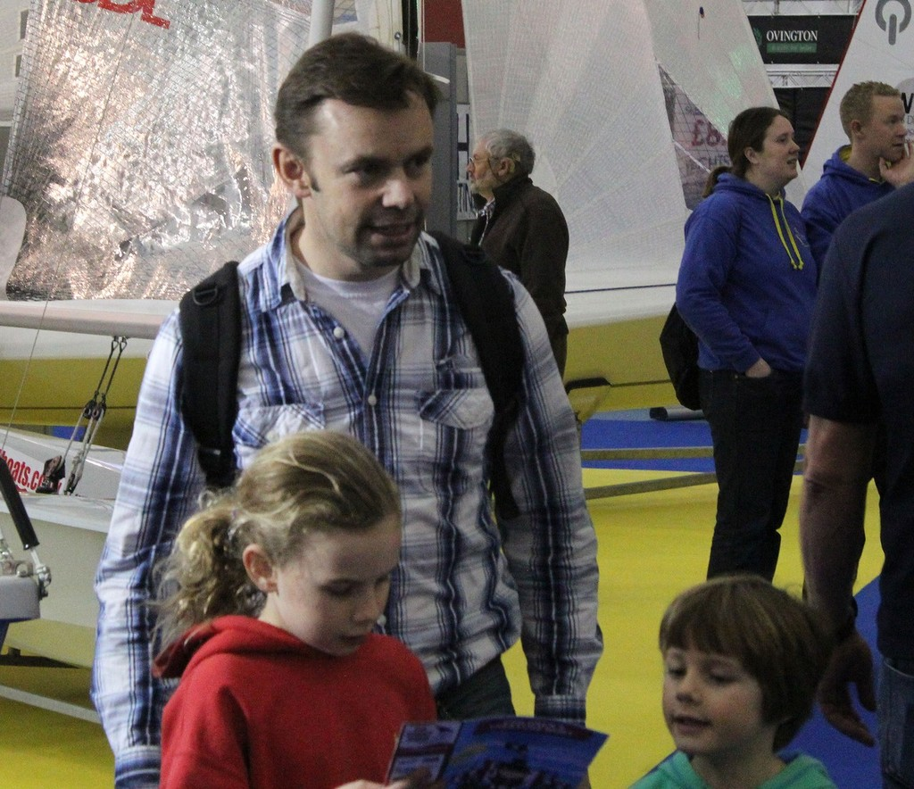 RYA Dinghy Show has lots of keen youngsters in attendance © Sail-World.com http://www.sail-world.com