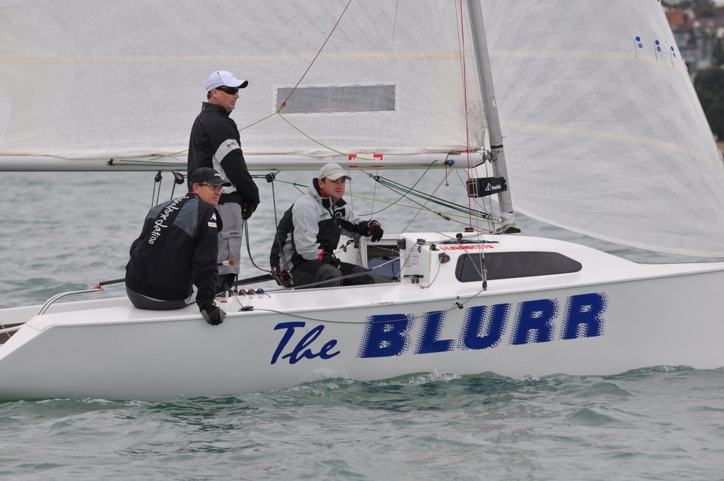 The Blurr - 2013 Elliott 5.9 Nationals photo copyright Suellen Hurling taken at  and featuring the  class