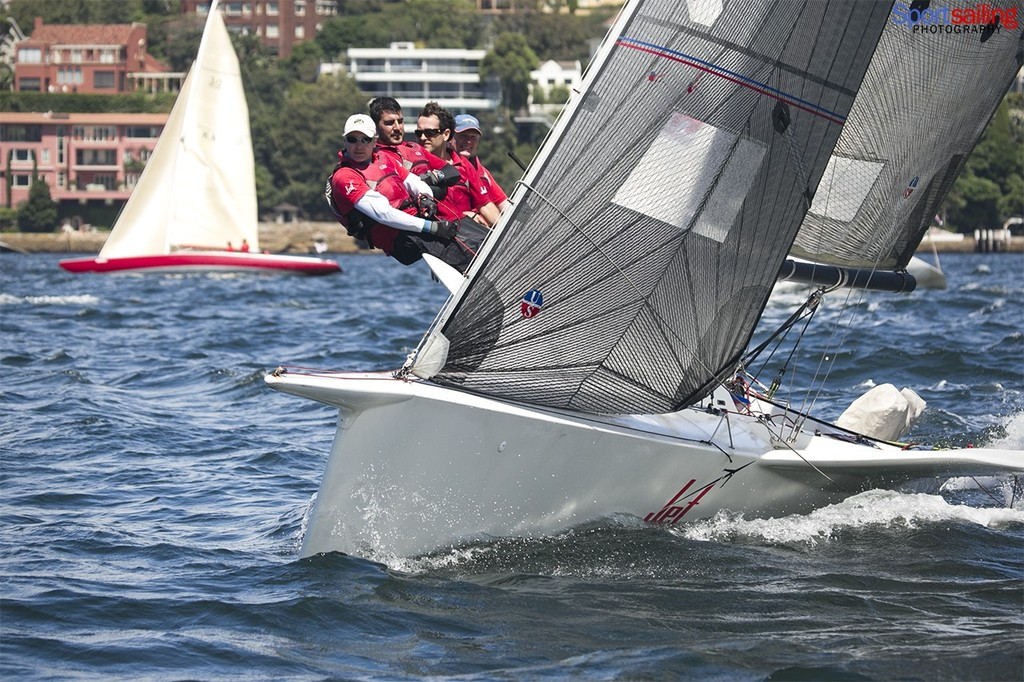 Jet came 2nd in the Super 30's series  - Helly Hansen Sydney Harbour Regatta 2013  © Beth Morley - Sport Sailing Photography http://www.sportsailingphotography.com