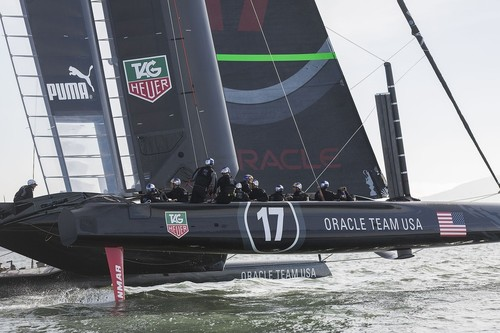 Oracle Team USA / San Francisco (USA) © Guilain Grenier Oracle Team USA http://www.oracleteamusamedia.com/
