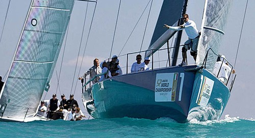 Azzurra in action during the 2013 Gaastra 52 World Championships ©  Ingrid Abery / Azzurra