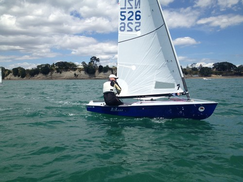 1984 World Laser Champion Oscar Paulich - 2012 Wakatere OK Dinghy Invitational ©  Alistair Deaves
