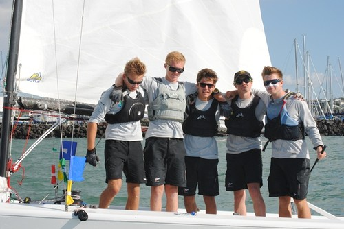 2nd overall Adam Middleton (RPNYC) - Harken Youth International Match Racing Championships 2013 © Amber Roberts