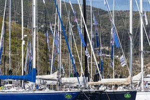 Dockside ambiance in Virgin Gorda -  Rolex Swan Cup Caribbean 2013 photo copyright  Rolex / Carlo Borlenghi http://www.carloborlenghi.net taken at  and featuring the  class