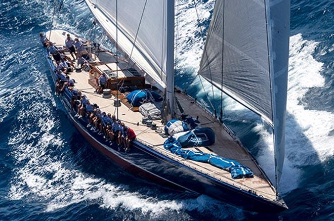 2013 Best refitted sailing yacht Endeavour ©  SW