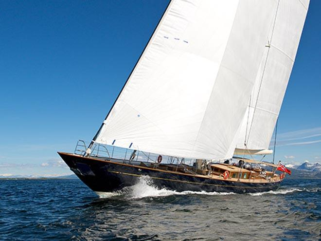 2013 Pumula - best sailing yacht of the year ©  SW