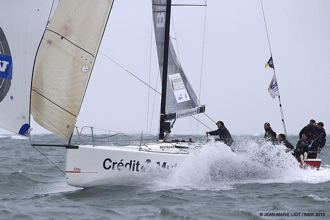 2013 Normandy Sailing Week - Credit Mutuel © Jean-Marie Liot