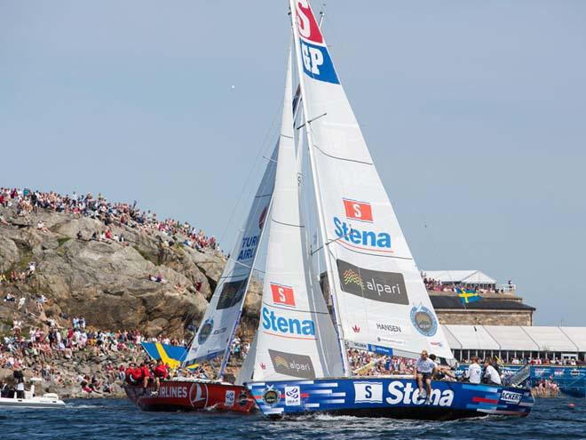 Great turnout from the locals during the Finals of the Stena Match Cup Sweden © Brian Carlin/AWMRT http://www.wmrt.com/