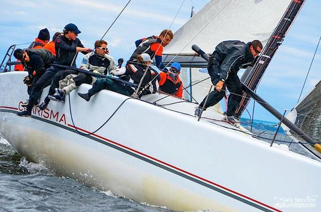 Charisma, owned by Nico Poons of Monaco, has won three of five races held so far and holds second place in the 159th New York Yacht Club Annual Regatta, presented by Rolex © Sara Proctor http://www.sailfastphotography.com