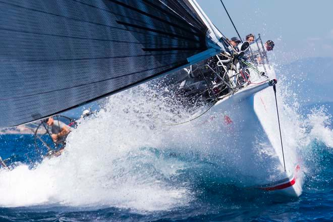 SHOCKWAVE, Sail n: USA60272, Owner: GEORGE SAKELLARIS, Group 0 (IRC >18.29 mt) - 2013 Giraglia Rolex Cup © Marcel Mochet / Route des Princes