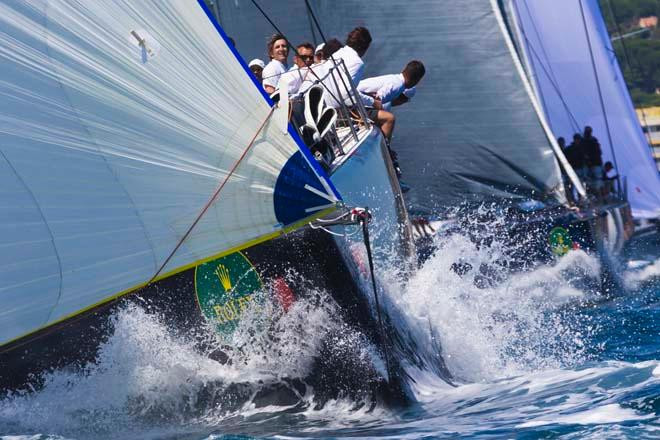 STIG, Sail n: ITA65000, Owner: ALESSANDRO ROMBELLI, Group 0 (IRC >18.29 mt) - 2013 Giraglia Rolex Cup © Marcel Mochet / Route des Princes