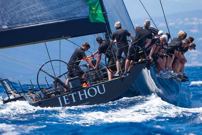 JETHOU, Sail n: GBR 74R, Owner: SIR PETER OGDEN, Group 0 (IRC >18.29 mt) - 2013 Giraglia Rolex Cup © Marcel Mochet / Route des Princes