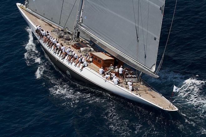2013 Superyacht Cup Palma - J-Class aerial action © Ingrid Abery http://www.ingridabery.com