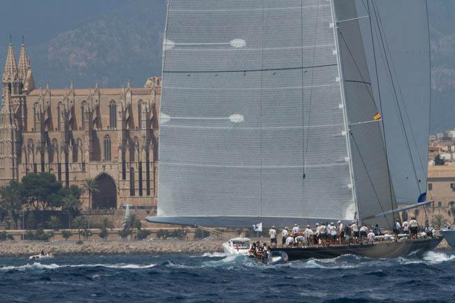 J-Class final day action - 2013 Superyacht Cup Palma © Ingrid Abery http://www.ingridabery.com