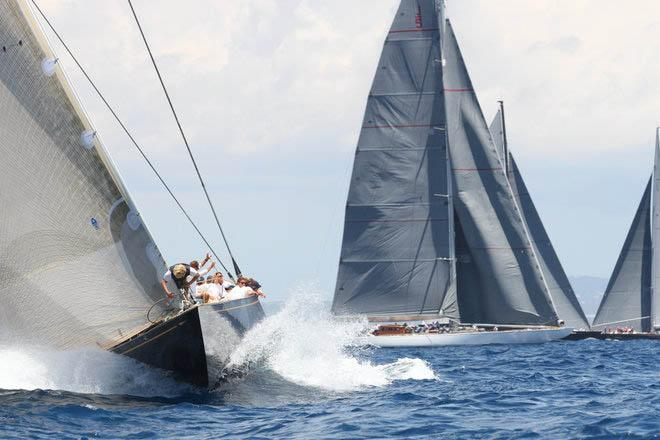 J-Class final day action - 2013 Super Yacht Cup Palma © Ingrid Abery http://www.ingridabery.com