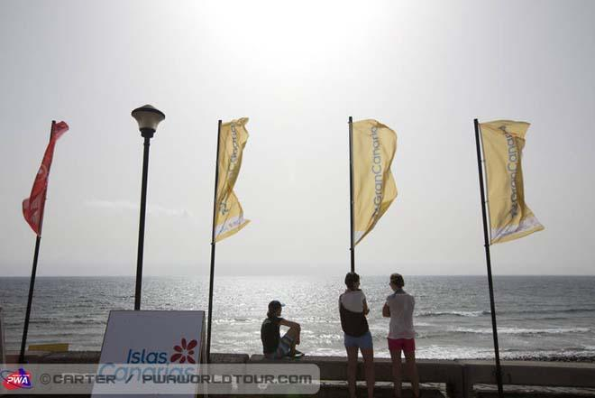 Waiting for wind - 2013 PWA Pozo World Cup ©  John Carter / PWA http://www.pwaworldtour.com