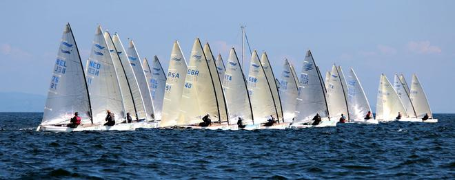 2012 Finn World Masters  © Claire ADB and BFA