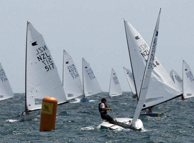 Blasse at the gate - 2013 OK Dinghy World Championships Day 3 © Malee Whitcraft