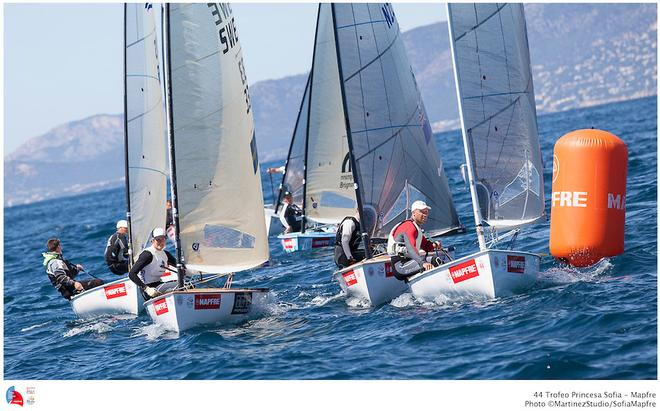 ISAF Sailing World Cup Palma 2013 - Day 3 © Robert Deaves/Finn Class http://www.finnclass.org