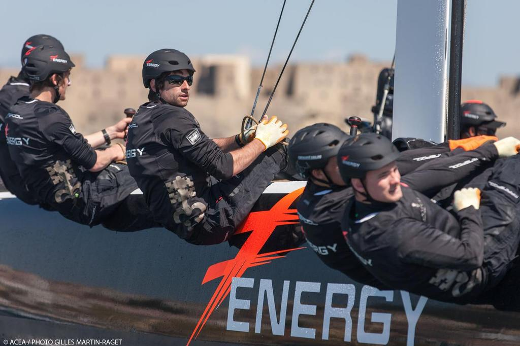 Energy Team - Red Bull Youth America's Cup 2013 © ACEA - Photo Gilles Martin-Raget http://photo.americascup.com/