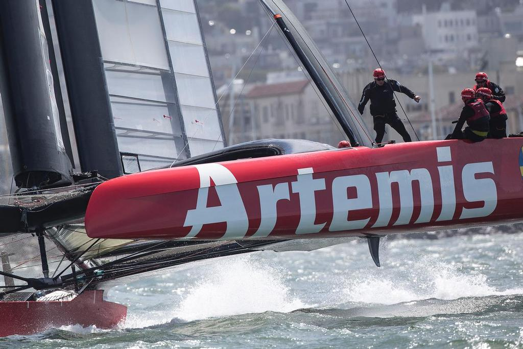 Artemis Racing April 11th 2013, Alameda, USA © Sander van der Borch / Artemis Racing http://www.sandervanderborch.com