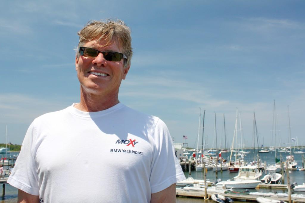 Paul Brindack ready for competition © Storm Trysail Club