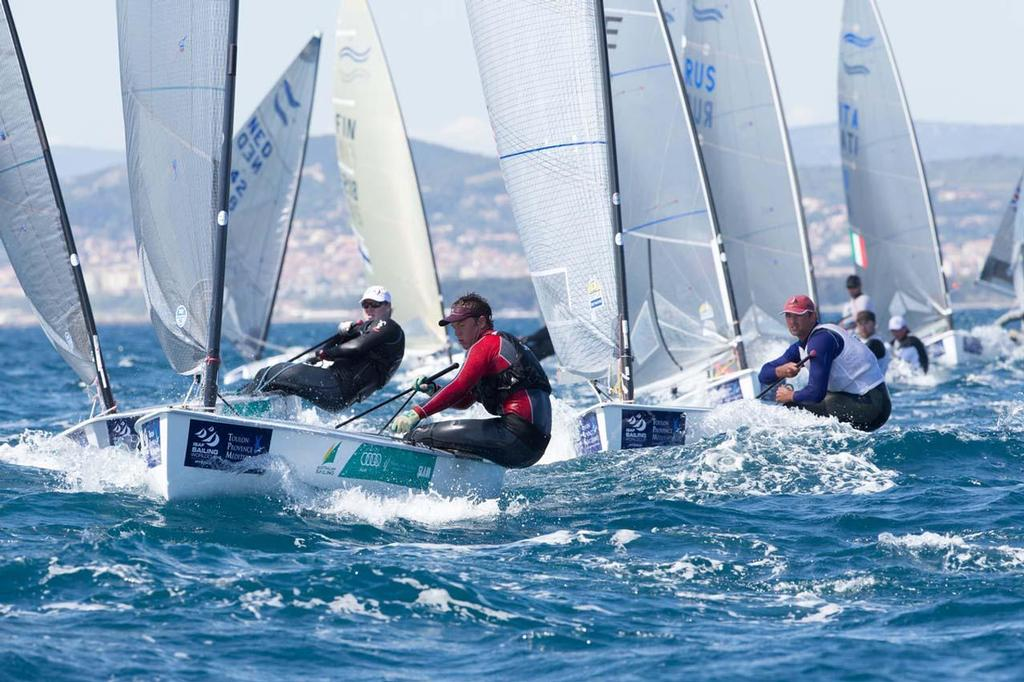 ISAF Sailing World Cup Hyeres 2013 - Finn © Thom Touw http://www.thomtouw.com
