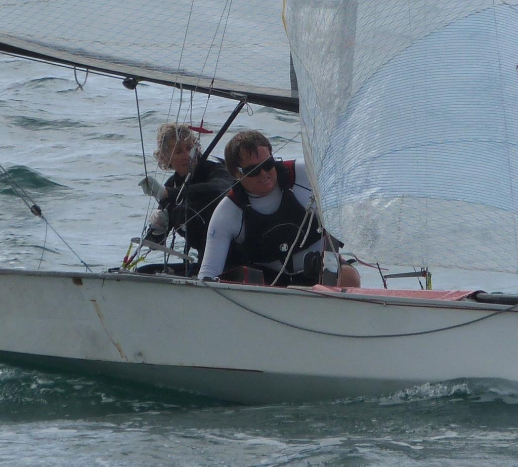 No Name Required with their changed jib setup - 2013 South Pacific and New Zealand National Championships © Antje Muller