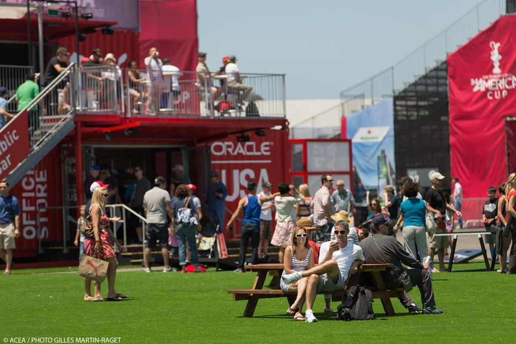 Opening Day, 34th America''s Cup, San Francisco, July 4 2013 © ACEA - Photo Gilles Martin-Raget http://photo.americascup.com/