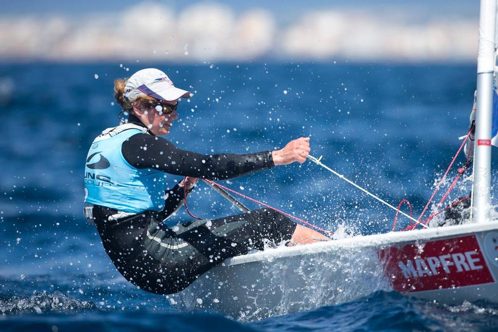 Alison Young, Laser Radial ©  Richard Langdon http://www.oceanimages.co.uk