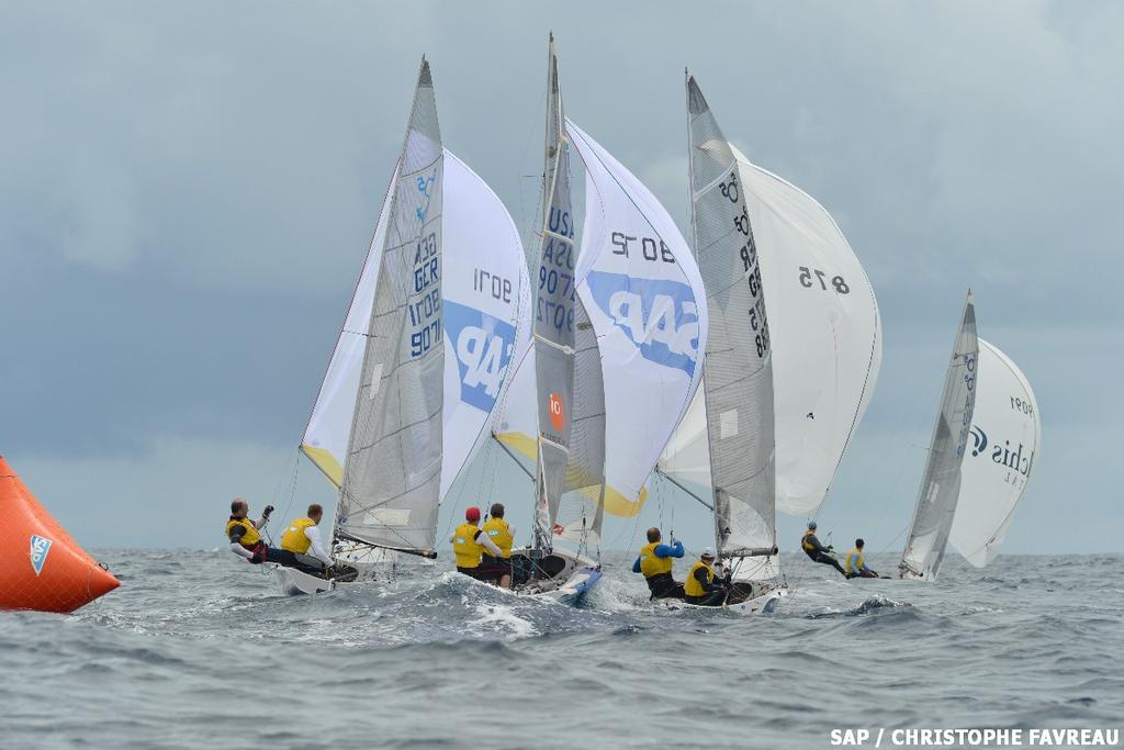 2013 SAP 5O5 Worlds Day 1 © Christophe Favreau http://christophefavreau.photoshelter.com/