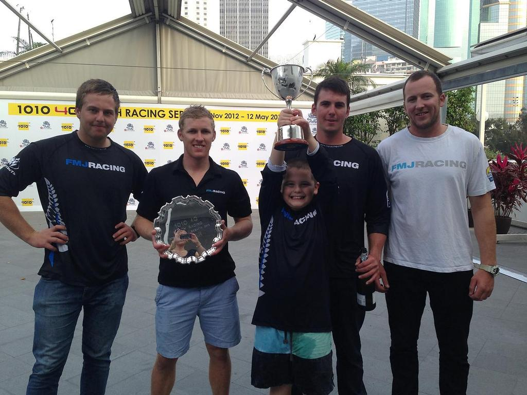 Full Metal Jacket win the 1010 4G Regatta in Hong Kong © SW