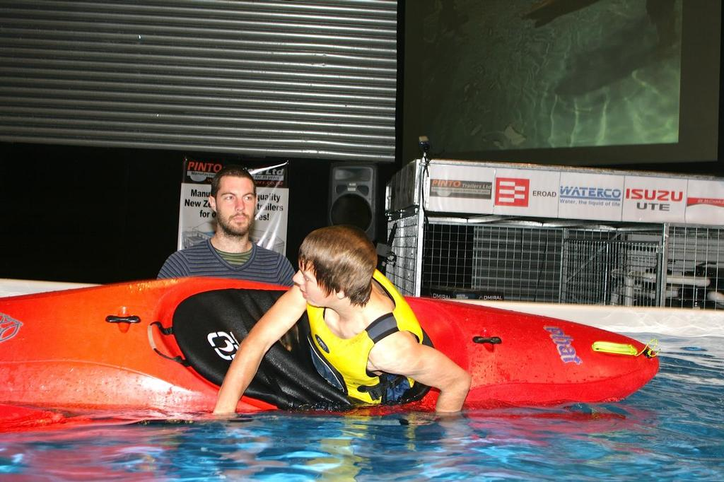 Kayak and getting kids on the water safely is a big part of the Hutchwilco New Zealand Boat show © Hutchwilco http://www.inmarine.net.au