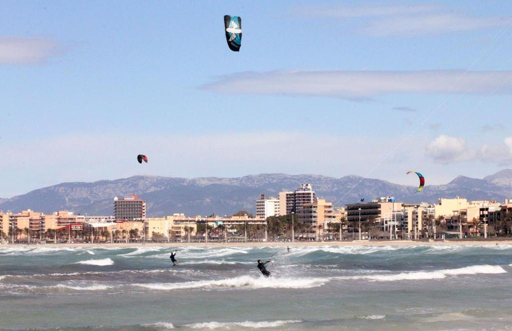 No Kiteboarding class at Palma World Cup event - Trofeo Princesa Sofia Mapfre 2013 ©  SW